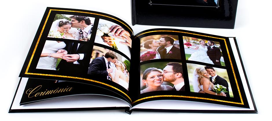 Fotolivro Quadrado Grande para casamento