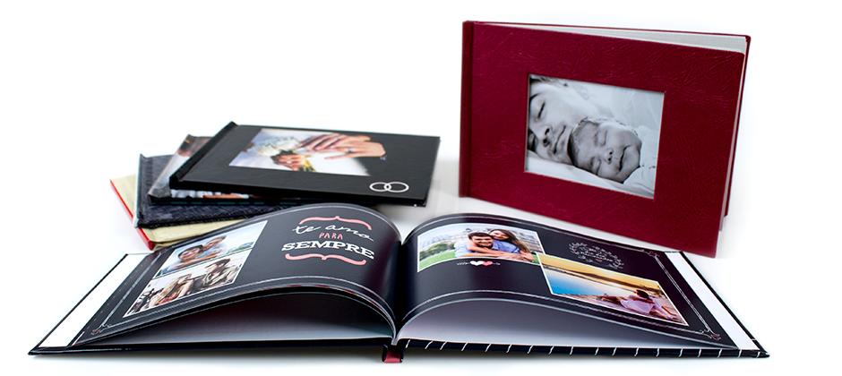 Fotolivro Clássico Grande com capa texturizada ou personalizada