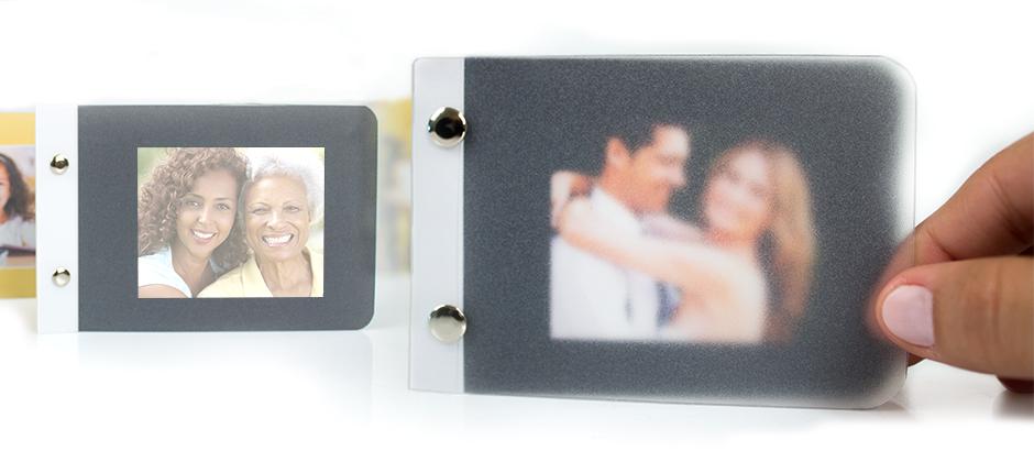 Fotolivro minibook com capa dura