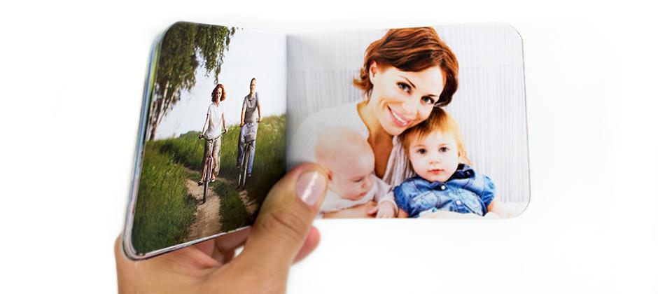 Fotolivro minibook com diversos temas