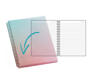 Veja como é o <strong>caderno</strong>