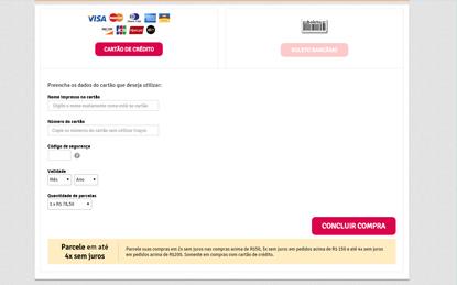 Finalize o pedido com o pagamento do frete e em poucos dias seu Fotolivro ser� entregue em casa
